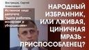 Сергей ВОСТРЕЦОВ. Истинное лицо депутата идите работать малярами и уборщицами
