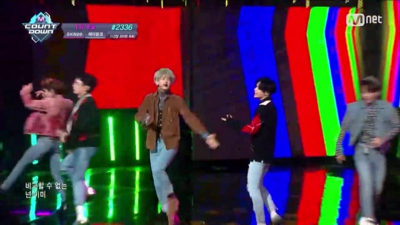 [SHINee - 1 of 1] KPOP TV Show _ M COUNTDOWN 161013 EP.496