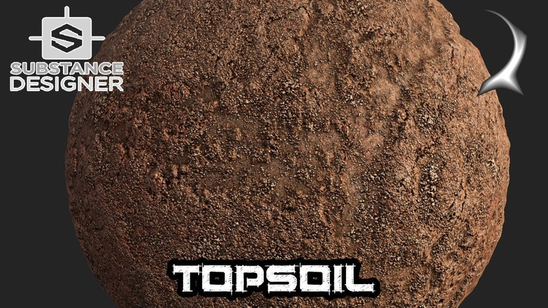 TOPSOIL - DIRT in Substance Designer - full tutorial - The Rocky Series 25