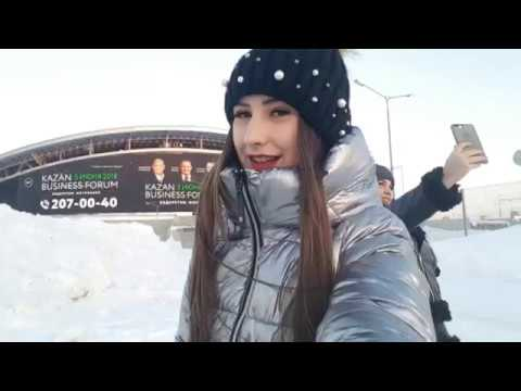 Казанский аквапарк Ривьера, ТЦ Мега, прогулка по Казани (мой первый влог)