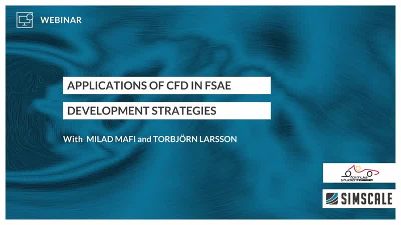 Application of CFD in Formula Student and FSAE – Session 3 – Development Strategies