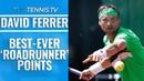 David Ferrer: Best-Ever Roadrunner Points!