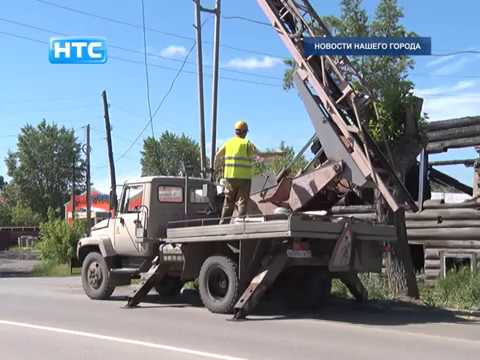 Масштабные работы по ремонту уличного освещения в северной части города идут полным ходом