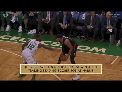 Putnam Celtics Daily Saturday Night vs Clippers