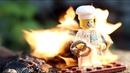 Как горит Лего конструктор Широ Сжег Lego и Китайский конструктор Lego on Fire