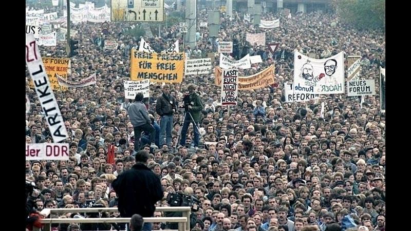 «Долой капитализм! Долой ФРГ!» В Германии прошёл 10 и тысячный митинг за возврат к ГДР