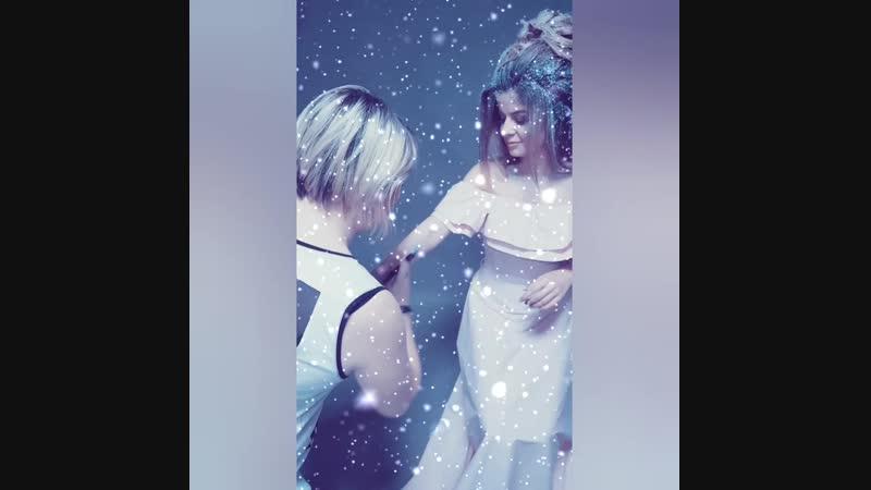 Project SNOW ILLUSION Backstage Ph Ксения Смирнова MUA Светлана Колтыш Hair Зарина