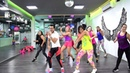 Shape Of You Ed Sheeran by Cesar James y Nath Cabrera Zumba Cardio Extremo Cancun