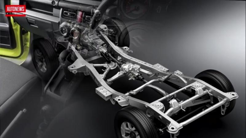 Новый Suzuki Jimny_ официальные фото и подробности