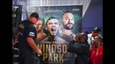 John Fury Tyson Fury And Wilder WWE Styled Hollywood Standard Acting Confrontation Comical