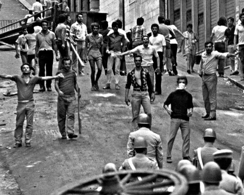 Противостояние на улицах Реджио-ди-Калабрия