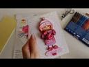 Открытка в технике папертоль - по набору от ТМ PaperLove