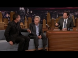 Adam Sandler makes Jimmy Show. Dustin Hoffman his impression of him