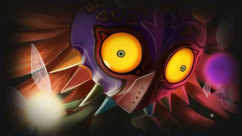 [DIGITAL SPEEDPAINT] Skull Kid in Majora's Mask