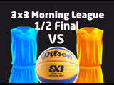 12 Final Blue VS Orange March 1, 2019 3х3 Morning League