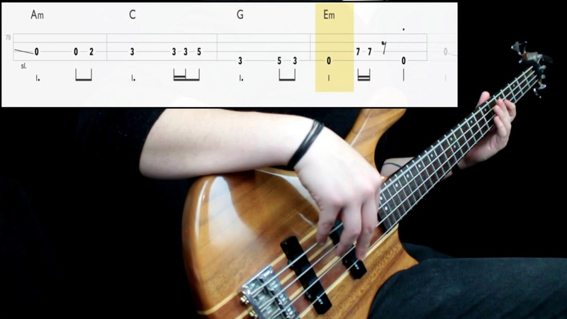 Metallica - Fade To Black (Bass Cover) (Play Along Tabs In Video)