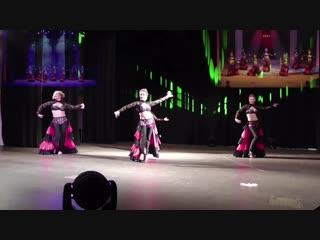 Аспания ракс 2018 - Шоу группа восточного танца ЭЛЬБИ