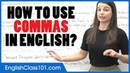 How to Use Commas in English Punctuation Guide Learn English Grammar