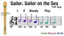 VMM Recorder Song 4 Sailor Sailor on the Sea