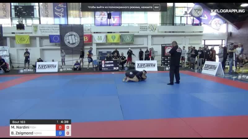 Marcos Nardini vs Bara Janos Zsigmond 1st ADCC European Trials fin