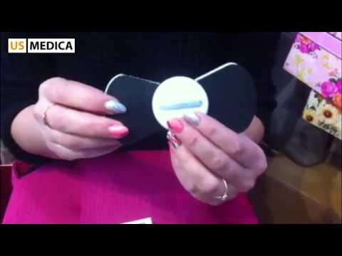 Миостимулятор для мышц US MEDICA Impulse MIO (бабочка) видео отзыв