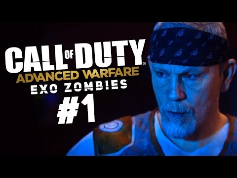 Call of Duty: Advanced Warfare EXO ZOMBIES 1 - Зомби vs. Актеры Голливуда