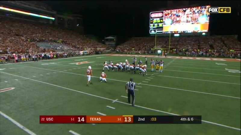 NCAAF 2018 Week 03 USC vs Texas