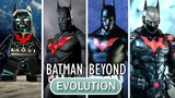 Evolution of the BATMAN BEYOND Mod in Batman Games (2009-2015)