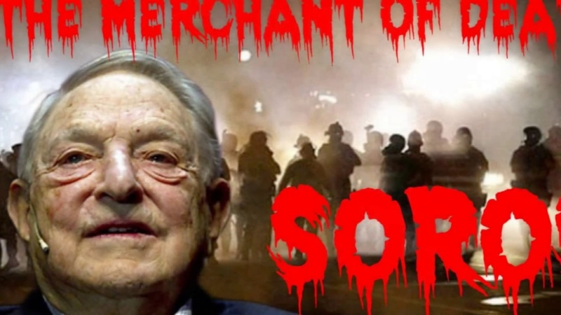 It takes just one--ONE--racist Jew to ruin your life and your family's future forever. George Soros-New World Order