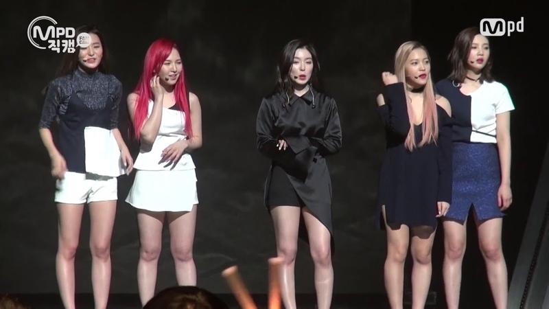 [MPD직캠] 레드벨벳 직캠 Red Velvet Cool Hot Sweet Love Fancam @엠카운트다운_160317