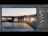 Lake Villa Visualization - Photoshop Architecture