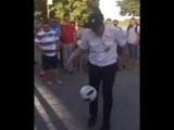 Чемпион мира по чеканке среди полицейских