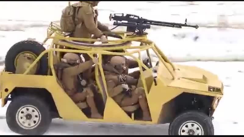 Нацгвардия Украины показала видео испытания нового военного внедорожника