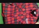 Рубашки фланель Англия (10 кг, 610 руб\кг, 33 шт)