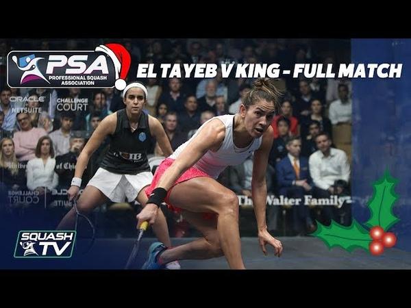 Squash Christmas Cracker - El Tayeb v King - Full Match - Windy City Open 2018 Final