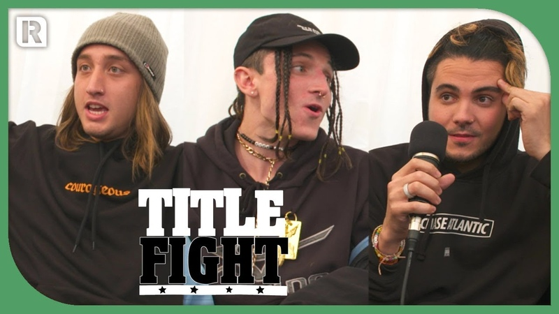 How Many Chase Atlantic Songs Can The Band Name In 1 Minute? - Title Fight