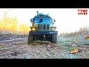 WPL RC B 36 Военный УРАЛ 4320 грузовик на радиоуправлении 6х6 масштаб 1 16 тест драйв