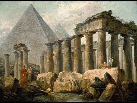 Загадочные руины на картинах Робера Юбера