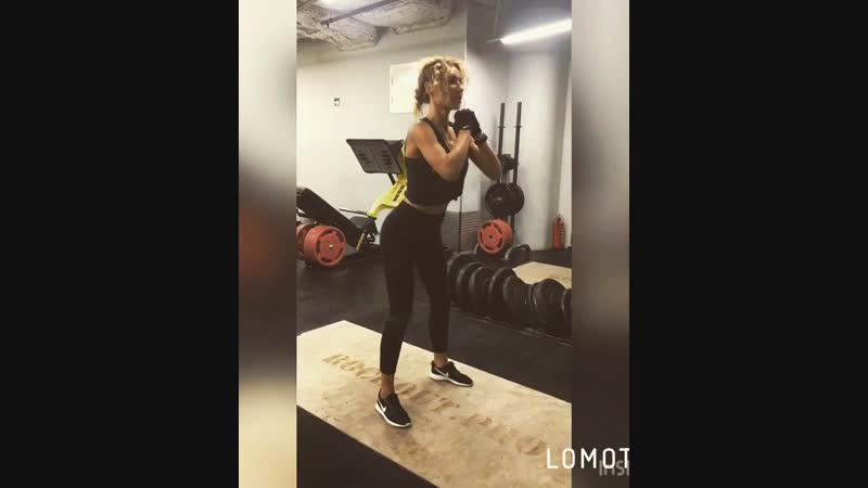 Тренировачка с утра 😉