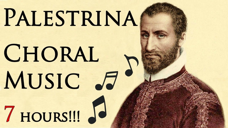 🎵 Palestrina Choral Music   Beautiful Relaxing Choral Music
