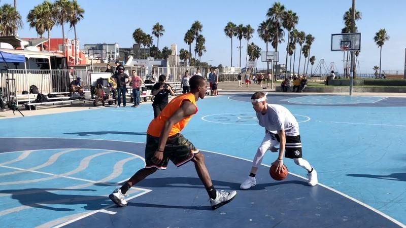 The Professor vs Pro Competition at Venice Beach.. DESTROYS 63 hooper