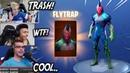 STREAMERS REACT TO NEW FLYTRAP SKIN *BEST PLAYS* Fortnite Funny and Best Moments Battle Royale