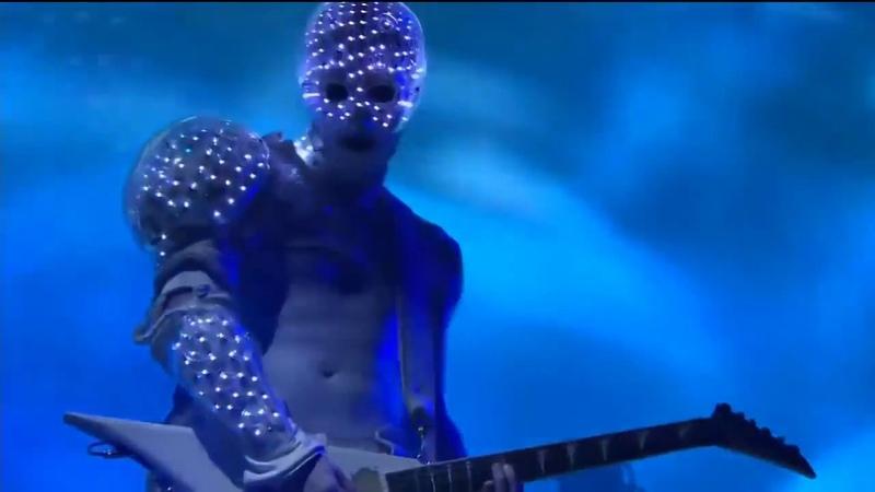 Wes Borland Limp Bizkit Season 3 World Finals Opening Ceremony Staples Centre