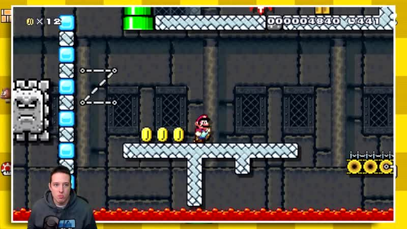 [DGR] A Mario Maker TROLL Level That Teaches You Life Lessons