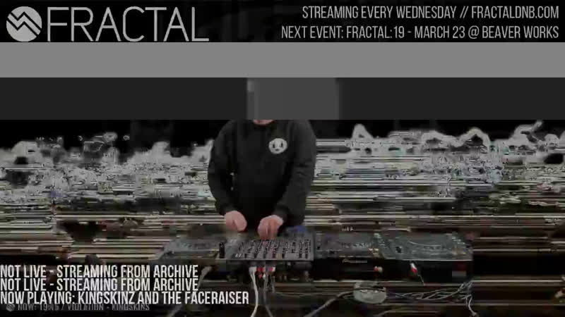 Fractal TV - Hardcore Drum Bass 24/7 Stream