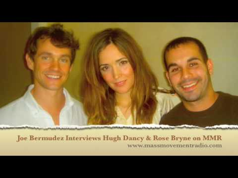 Joe Bermudez Interviews Hugh Dancy Rose Byrne on Mass Movement Radio