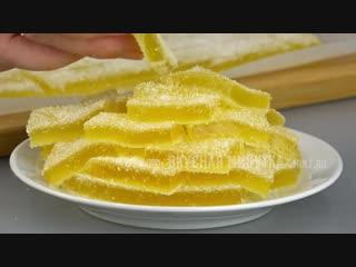 Как просто и вкусно приготовить ДОМАШНИЙ МАРМЕЛАД Яркое УКРАШЕНИЕ для тортов, ру