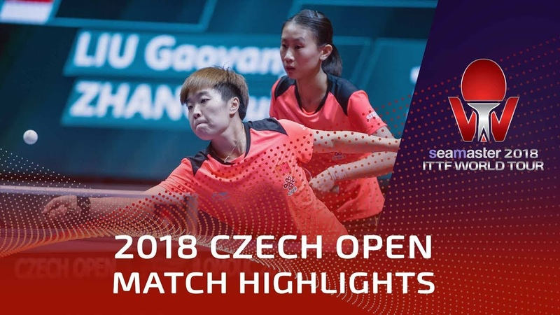 Zeng Jian/Sun Jiayi vs Zhang Rui/Liu Gaoyang | 2018 Czech Open Highlights (Final)