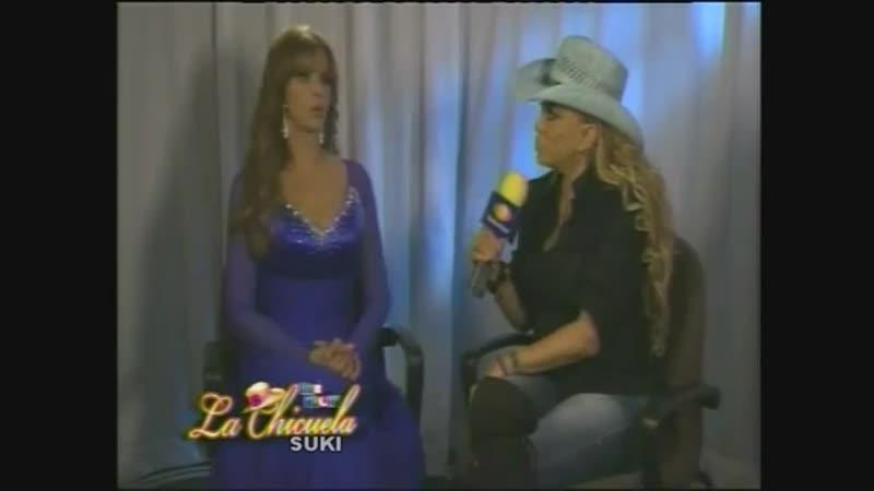 Lucía Méndez - Entrevista por Qué noche con la Chicuela part 1 (Sep. 2011)