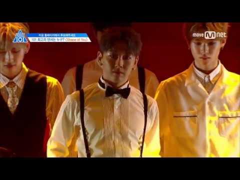 PRODUCE101 Season 2 EP6   DANCE ♬ 'Shape of You'   Full Group Focus